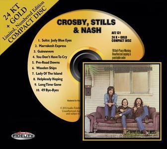 Crosby, Stills & Nash (1969) [24 KT + Gold CD, 2011] - Crosby, Stills & Nash