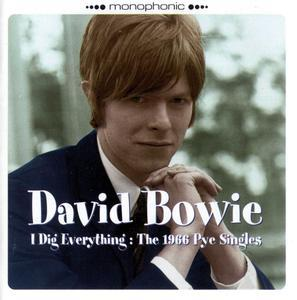 I Dig Everything: The 1966 Pye Singles (1966) 2006 Re-Issue - David Bowie