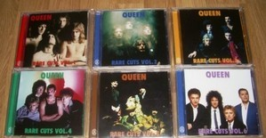 Rare Cuts Volumes 1-6 6CD Collection (Japan) - Queen