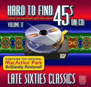Hard To Find 45's On CD Volume 17 - Various Artists