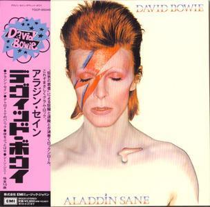Aladdin Sane (1973) Japan - David Bowie