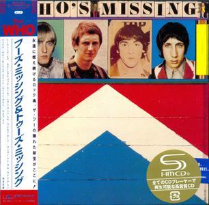 Who's Missing 1985 & Two's Missing 1987 (2011) Japanese Pressing - The Who