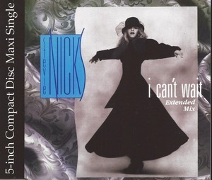 I Can't Wait (1985) CD Single - Stevie Nicks