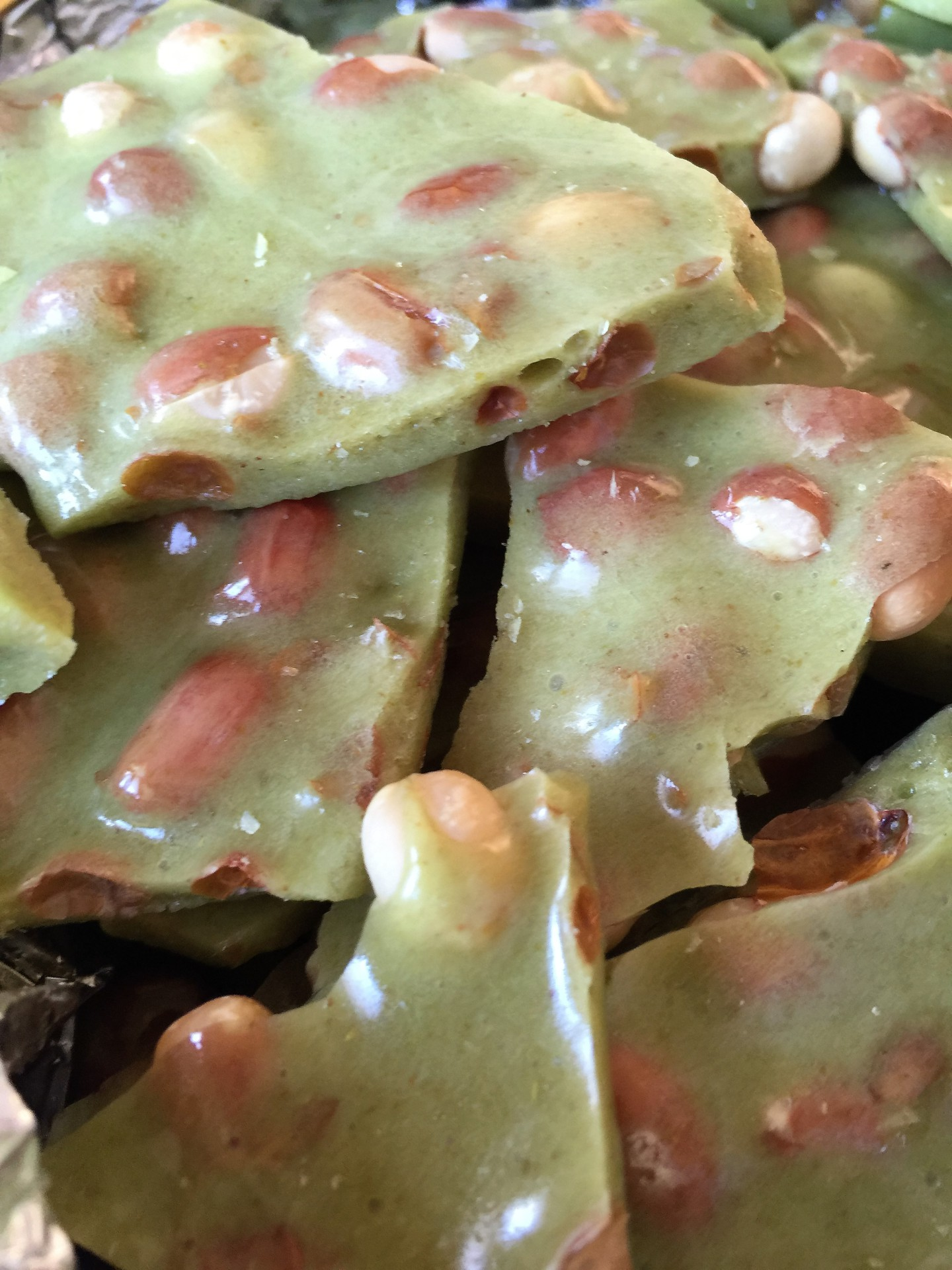 Taste of the Southwest Green chile  Brittle