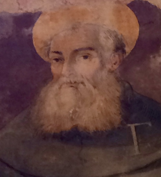 San Francesco - one of my favourite frescos in the village church