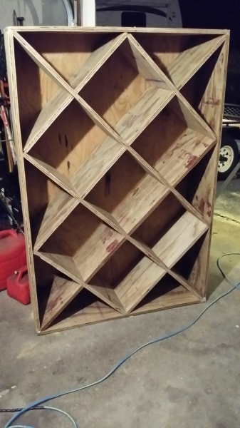 Basement Wine Storage