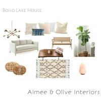 Boho Lake House