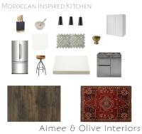 kitchen design, mood board, kitchen mood board