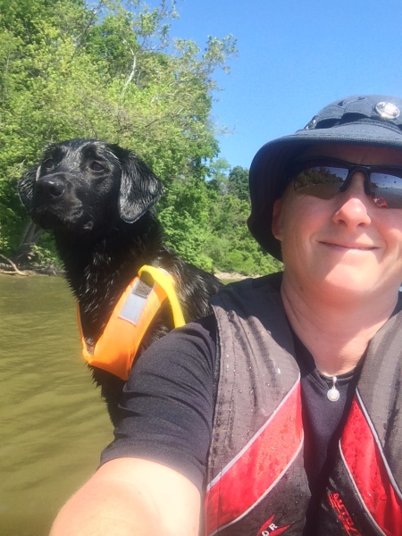 Kayaking with Jessie!