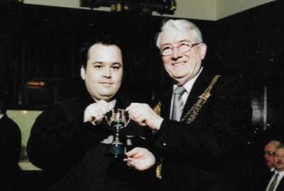 A.Silby Receives Award