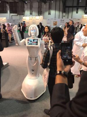Service Robot at Innovators Store