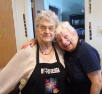 Pictures of happy residents having fun and being creative together!