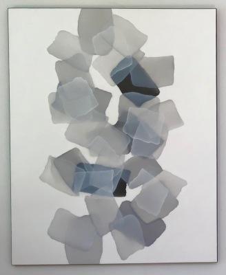 Pebbles Stones & White Sea Glass