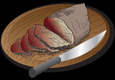 Spit Roast Beef Lamb Pork