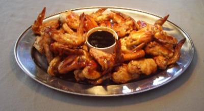 chicken wings Spit Roast Guru