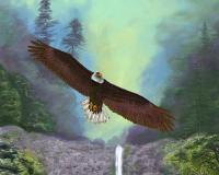 Multnomah Falls, Eagle, Waterfall