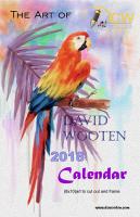 calendar, 2018 calendar, art, dcwooten,
