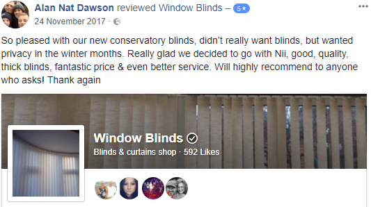 North Wales Best Blinds