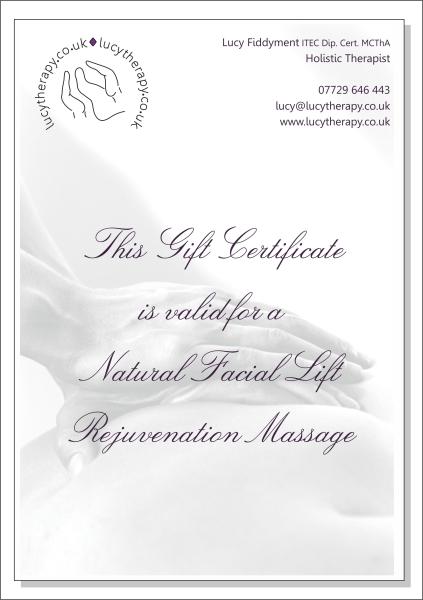 Natural Facial Lift Rejuvenation Massage