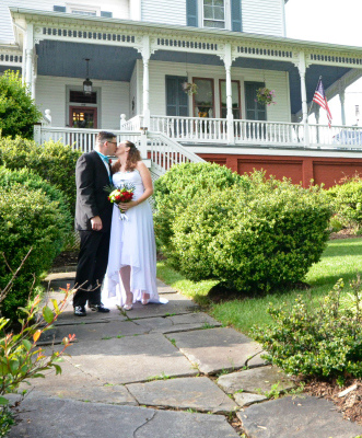 Elopement at Claiborne House, Rocky Mount, VA - Epic Elopement
