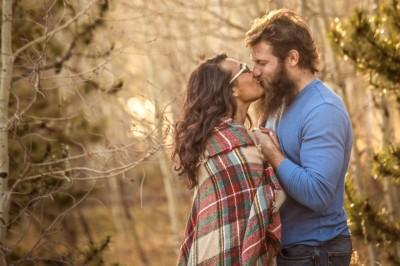 Jasmine & James eloping in Colorado
