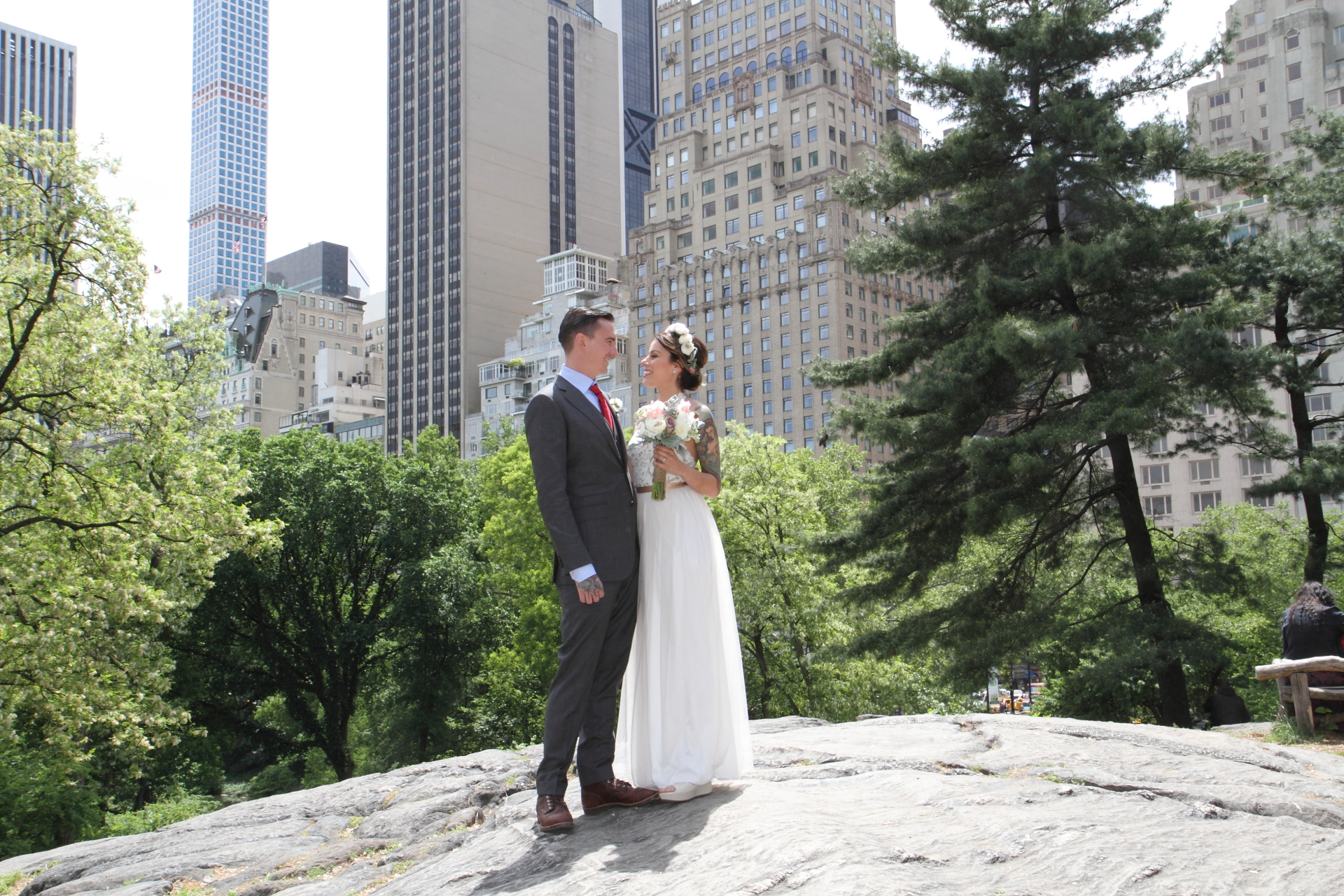 Elope to Central Park