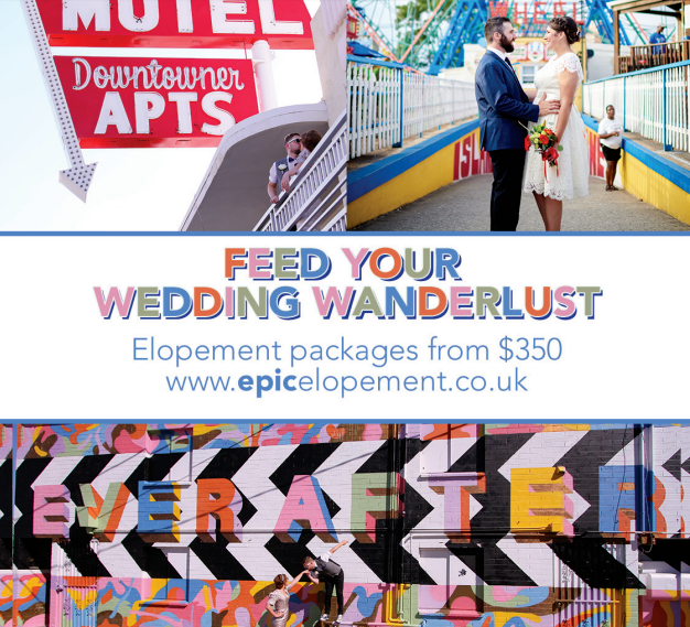 UK based Elopement Packages starting at $350