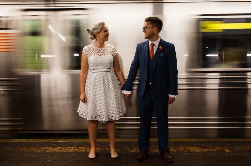 Bride and Groom eloping around the world