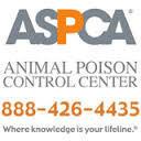 ASPCA Poison Control Center Website