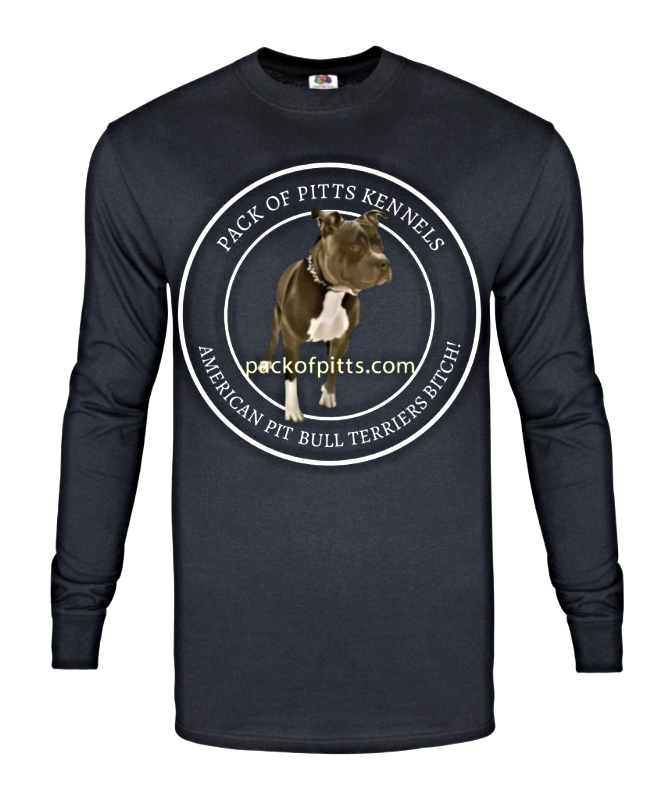 t-shirts, shirts, pitbull shirts, pitbull t-shirts, pitbull, bully, pack, pack t-shirts, tees, mens, long, sleeve