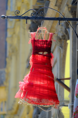 Red Dress, Budapest