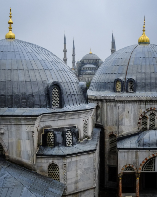The Blue Mosque from The  Aya Sophia