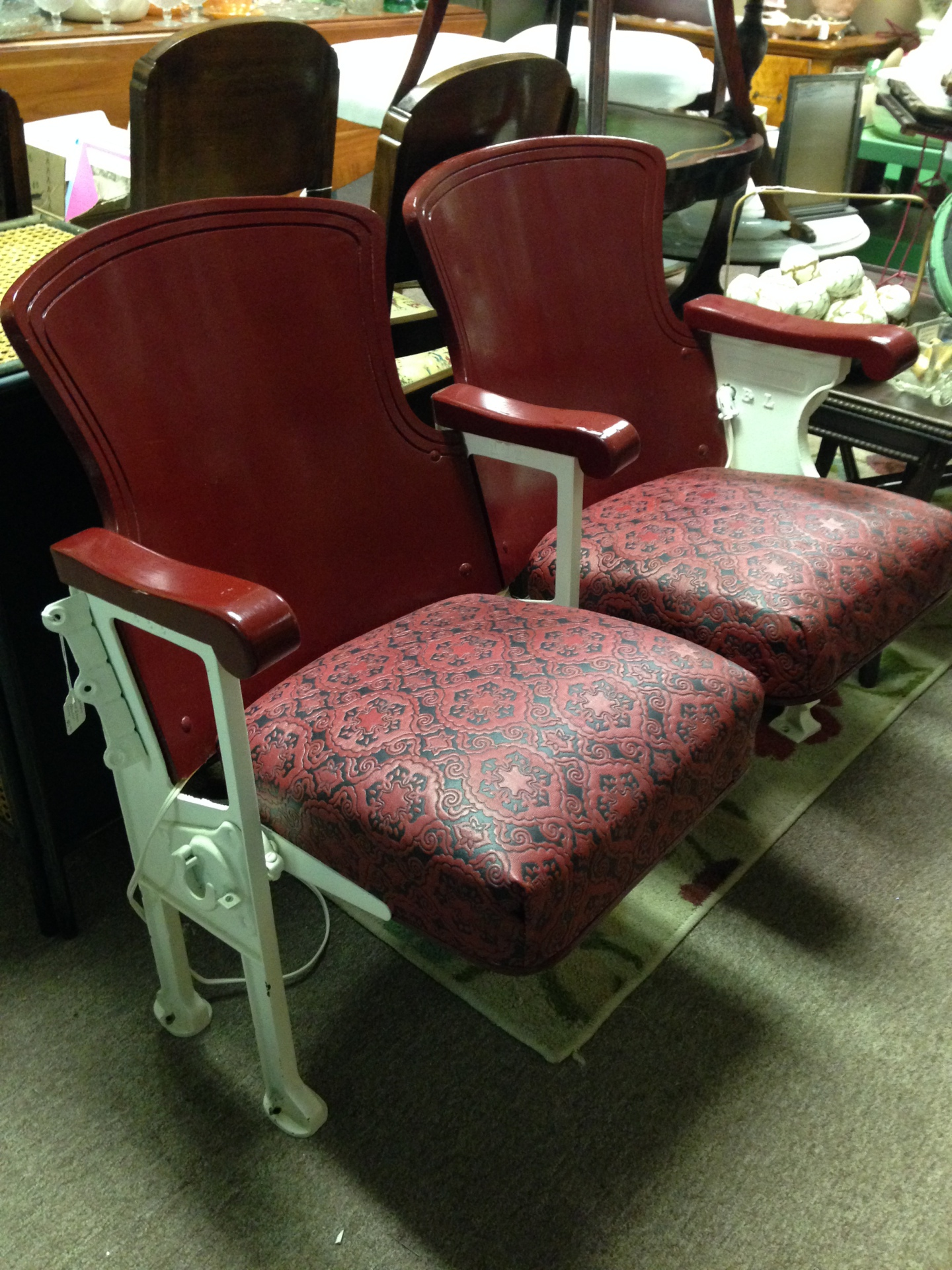 1930s New Braunfels Capital Theater seats