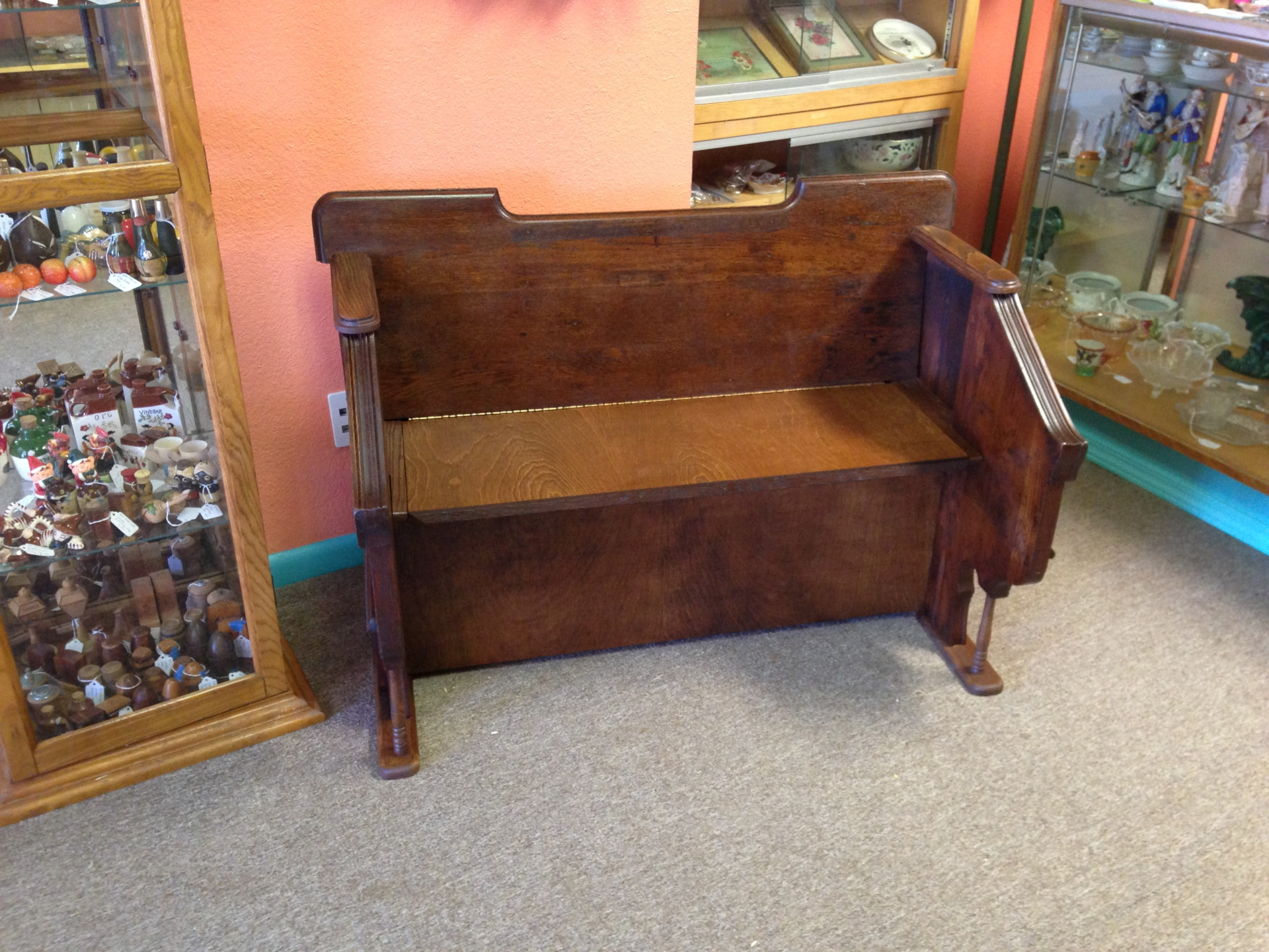 Antique Organ Frame Made Into a Bench