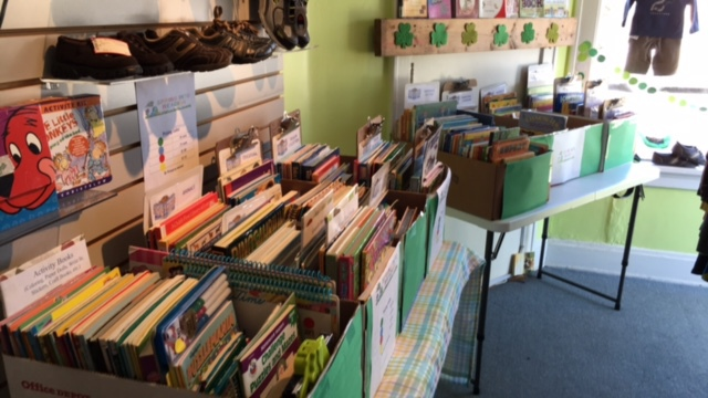 Book sale in March