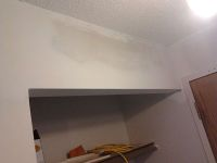 Drywall, finish, drywall mud.