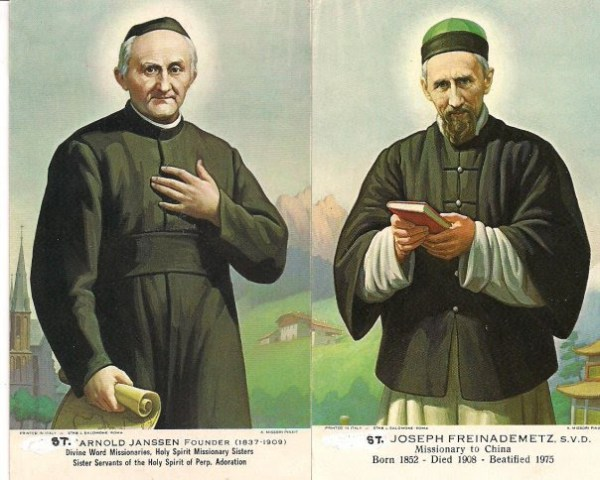 Thánh Arnold Janssen và Thánh Giuse Freinademetz