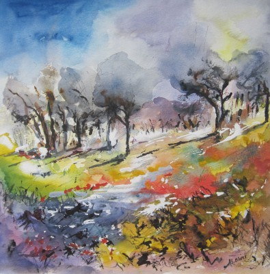 'Mediterranean Trees' - SOLD