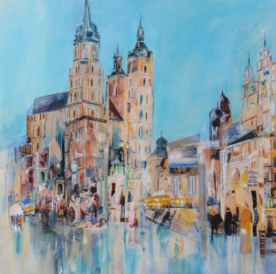 Memories of Krakow - SOLD