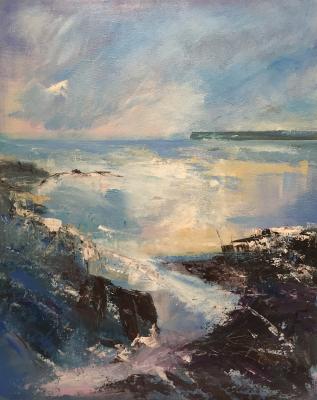 Lamorna Cove - Acrylic