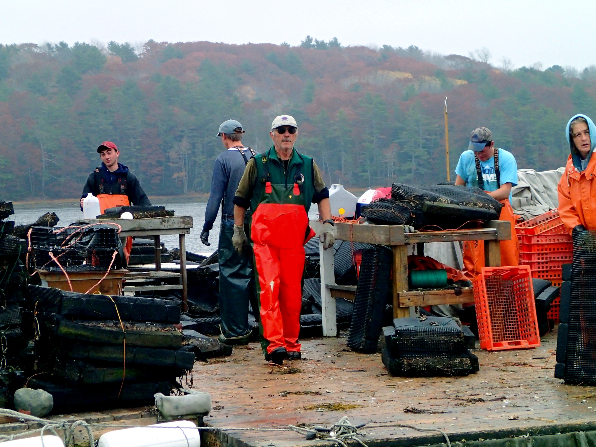 Muscongus Bay Aquaculture and Dodge Cove Marine Farm