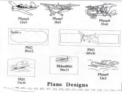 Plane Designs