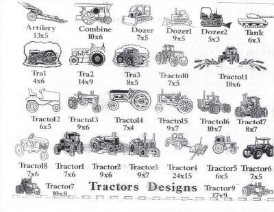 Tractor Designs