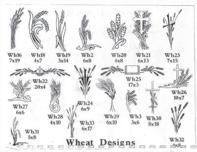 Wheat Designs
