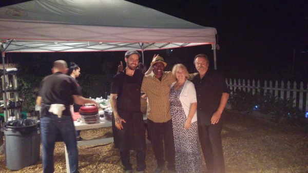 Chef Pretty of Restauration, Farmer Rod of OHG and Property Owners Bill and Lynette