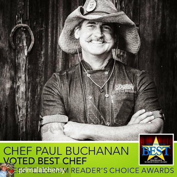 Chef Paul Award