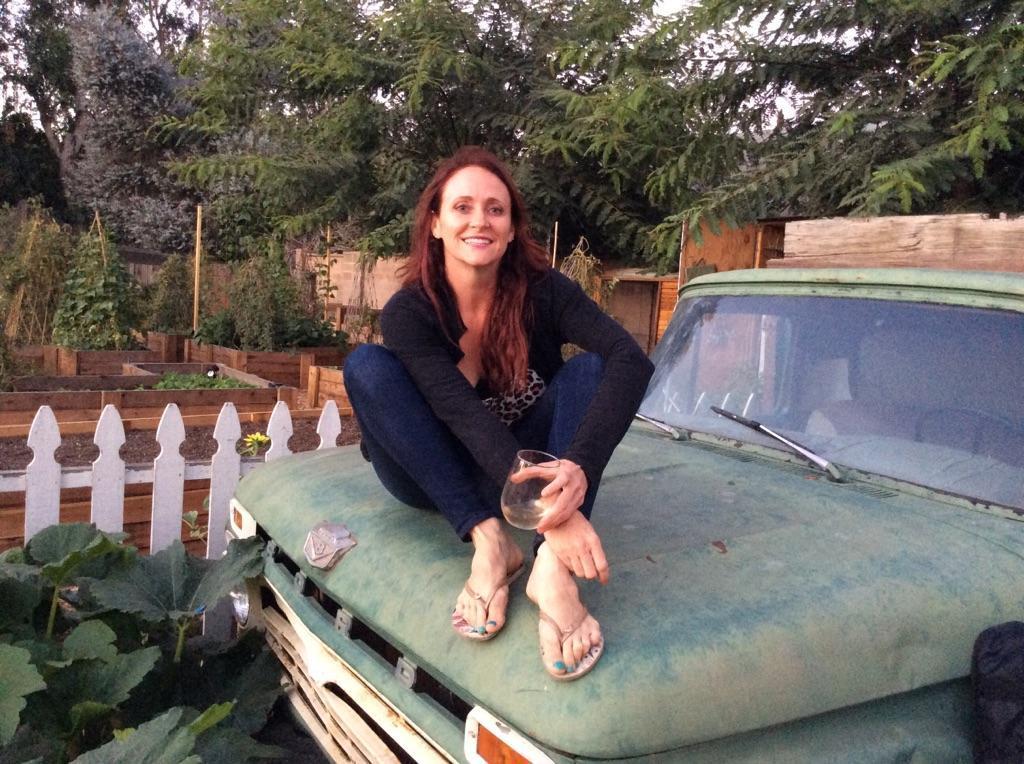 Dana on the Farm Truck