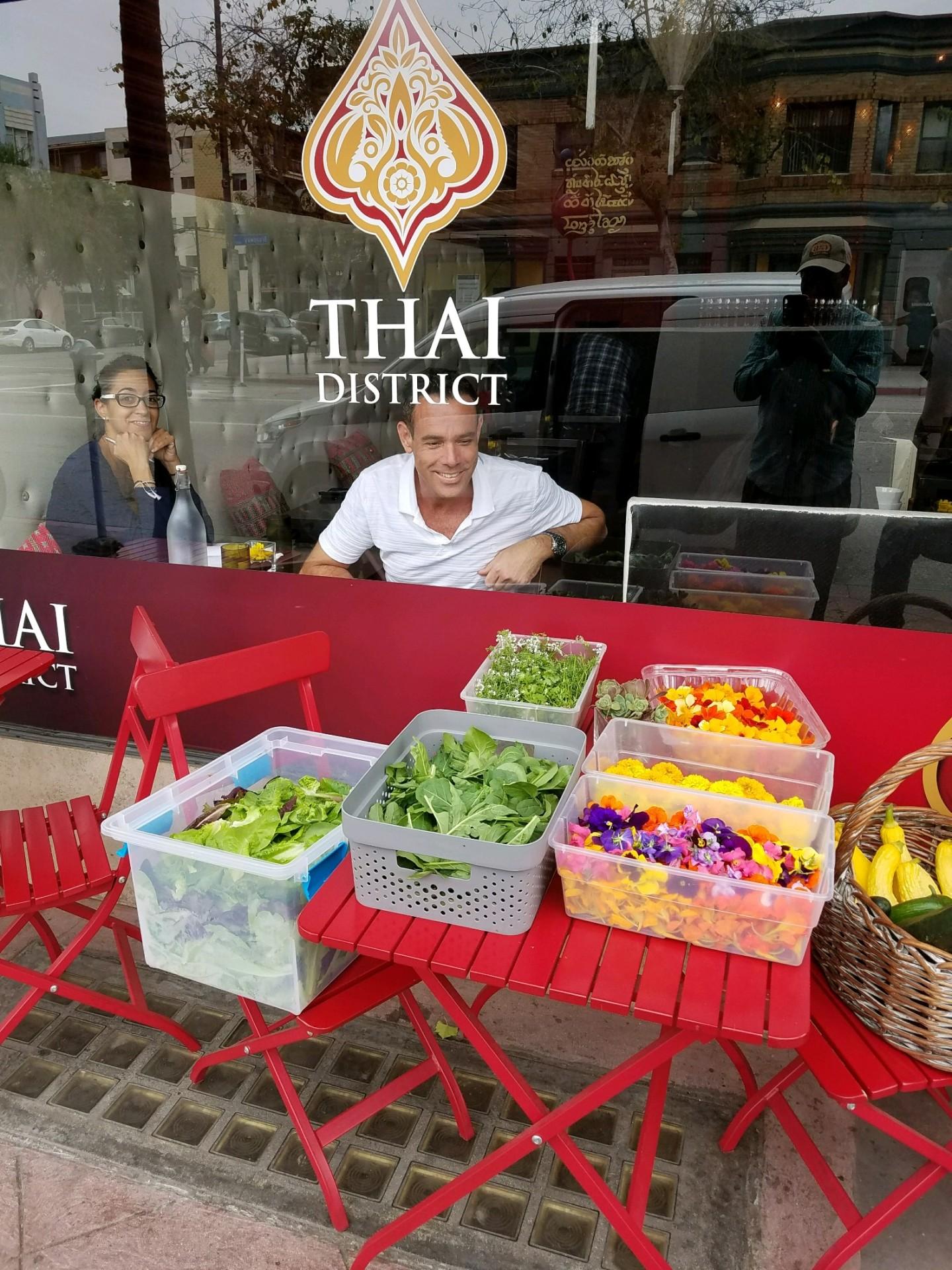 Patron of Thai Distict