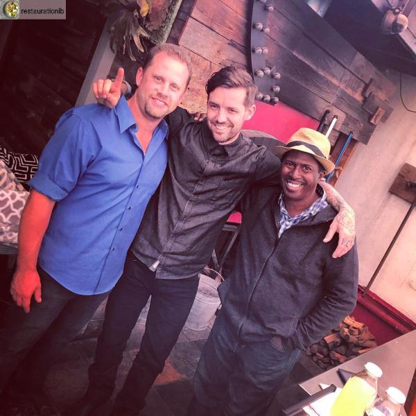 Chef Pretty with OHG Rod and Adam