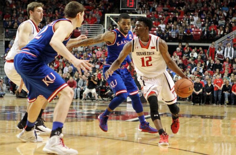 Jayhawks Win 13th Straight Against Texas Tech